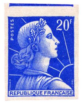 n°1011Be** ND - Timbre FRANCE Poste