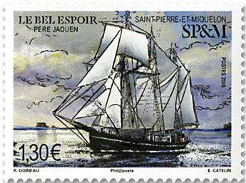 n° 1202 - Timbre Saint-Pierre et Miquelon Poste