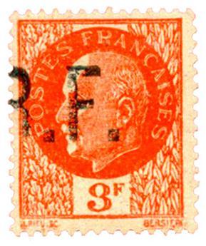 n°9* (MAYER) - Timbre FRANCE Libération (BADONVILLE)