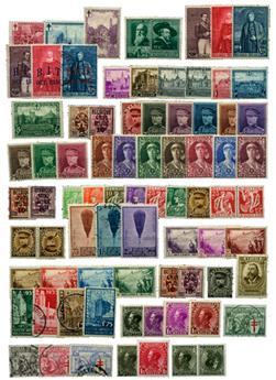 BELGIQUE : Collection 1850/1945 **/*/obl.