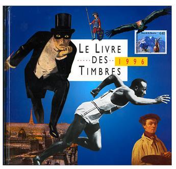 LE LIVRE DES TIMBRE DE L´ANNEE 1996