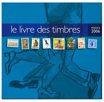 LE LIVRE DES TIMBRE DE L´ANNEE 2006