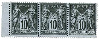 n°103(*) - Timbre FRANCE Poste