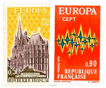 n°1714/1715** ND - Timbre FRANCE Poste