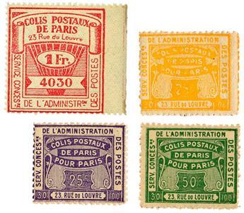 """Colis Postaux """"Paris pour Paris"""""""