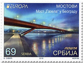 n° 779/780 - Timbre SERBIE Poste (EUROPA)