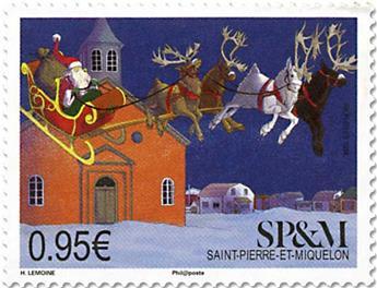 n° 1212 - Timbre Saint-Pierre et Miquelon Poste