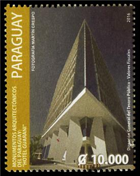 n° 3220 - Timbre PARAGUAY Poste