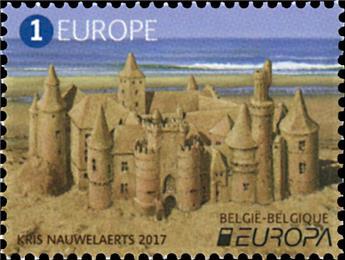 n° 4677 - Timbre BELGIQUE Poste (EUROPA)