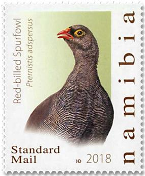n° 1409/1413 - Timbre NAMIBIE Poste