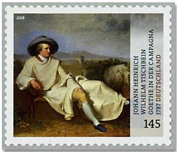 n° 3170 - Timbre ALLEMAGNE FEDERALE Poste