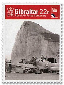 n° 1858/1863 - Timbre GIBRALTAR Poste