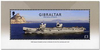 n° F1856 - Timbre GIBRALTAR Poste