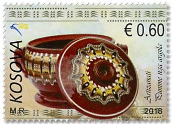 n° 284/286 - Timbre KOSOVO Poste