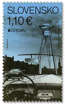 n° 740 - Timbre SLOVAQUIE Poste (EUROPA)