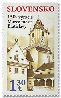n° 747 - Timbre SLOVAQUIE Poste