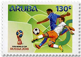 n° 1006/1007 - Timbre ARUBA Poste