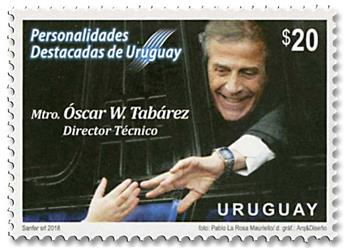 n° 2889 - Timbre URUGUAY Poste