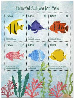 n° 2733/2738 - Timbre NEVIS Poste