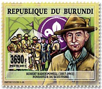 n° 2517 - Timbre BURUNDI Poste