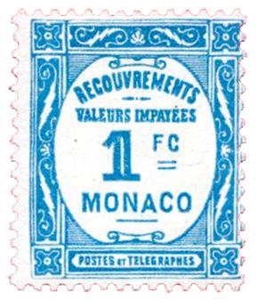 n°27* - Timbre MONACO Taxe