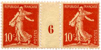 n°134** - Timbre FRANCE Poste