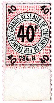 France : Petits colis 1935 40 fr. neuf**