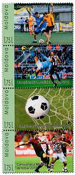 n° 914/917 - Timbre MOLDAVIE Poste