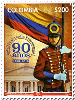 n° 1930 - Timbre COLOMBIE Poste