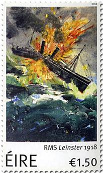 n° 2262 - Timbre IRLANDE Poste