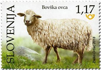 n° 1104/1106 - Timbre SLOVENIE Poste