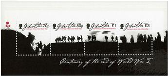 n° 1875/1878 - Timbre GIBRALTAR Poste