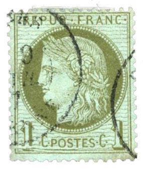 n°50 obl. TB - Timbre FRANCE Poste