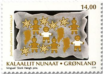 n° 776/777 - Timbre GROENLAND Poste