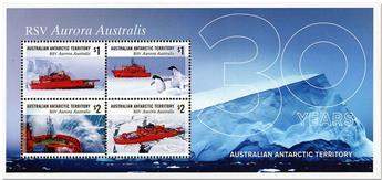 n° 23 - Timbre TERRITOIRE ANTARCTIQUE AUSTRALIEN Blocs et feuillets