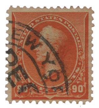 n°80 obl. TB - Timbre ETATS-UNIS Poste