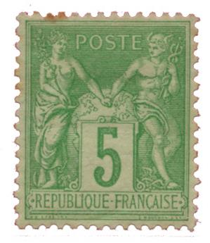 n°106* - Timbre FRANCE Poste