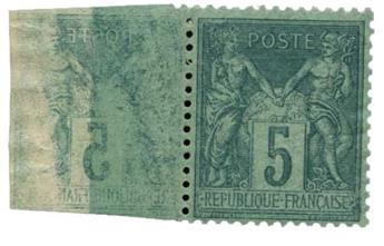 n°75** - Timbre France Poste