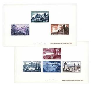 n°1036/1042 - Timbre France Epreuve de luxe
