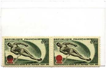 n°1395** - Timbre France Poste