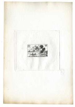 n°197 - Timbre Océanie Poste