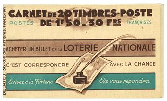 n° 517-C2- Timbre France Carnets