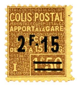 n°89** - Timbre FRANCE Colis Postaux
