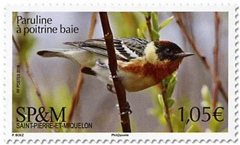 n° 1214 - Timbre Saint-Pierre et Miquelon Poste