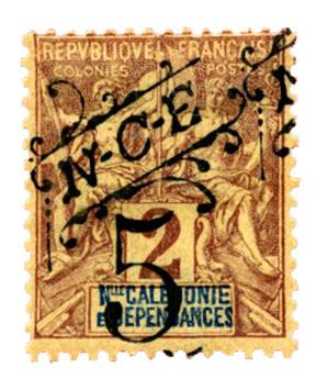 n°54* - Timbre NOUVELLE CALEDONIE Poste