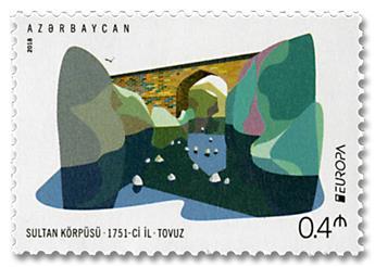 n° 1111/1112 - Timbre AZERBAIDJAN Poste