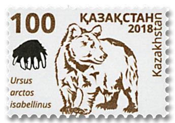 n° 818 - Timbre KAZAKHSTAN Poste