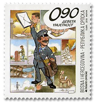 n° 700 - Timbre REPUBLIQUE SERBE (DE BOSNIE) Poste