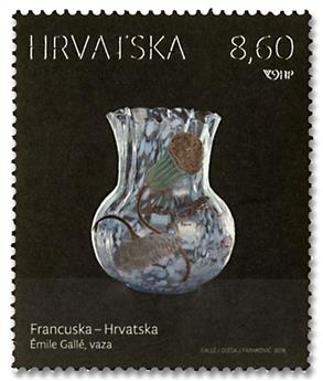 n° 1237/1238 - Timbre CROATIE Poste