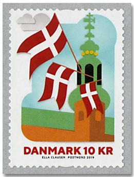 n° 1915 - Timbre DANEMARK Poste